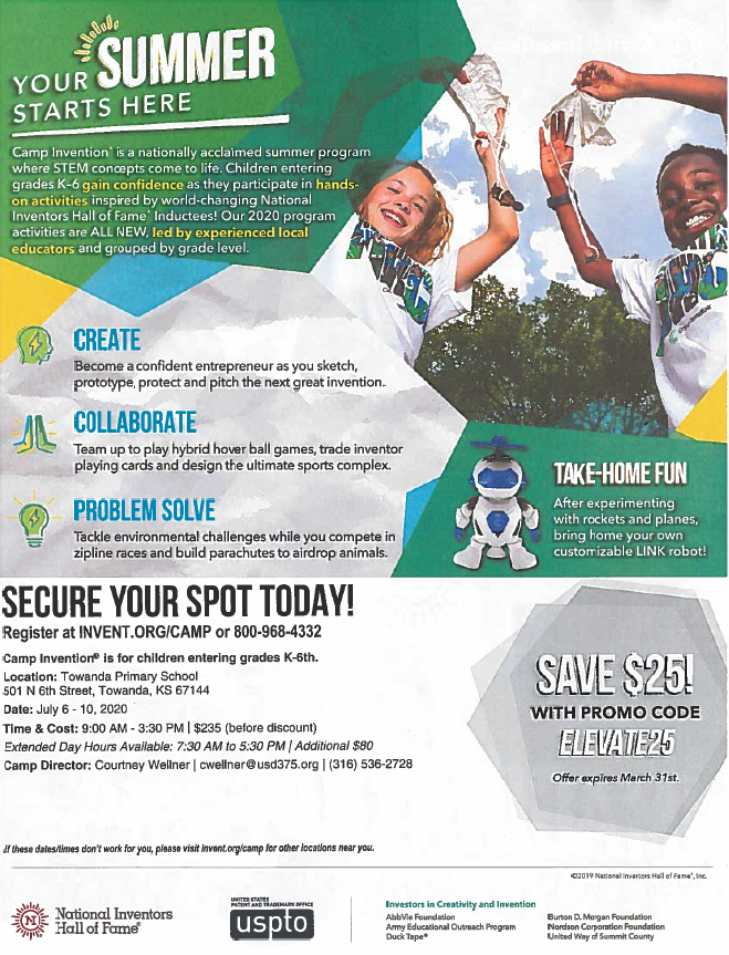 Camp Invention Info