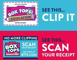 Box Tops due February 13