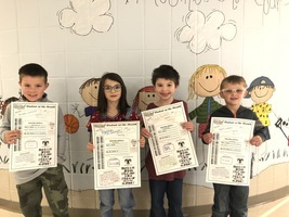 Student of the Month for February - 1st grade  #thrivein375