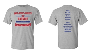 Patriot League Cross Country Shirts