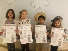 January Student of the Month - 1st grade  #thrivein375