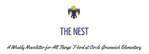 The Nest Newsletter 1st Edition