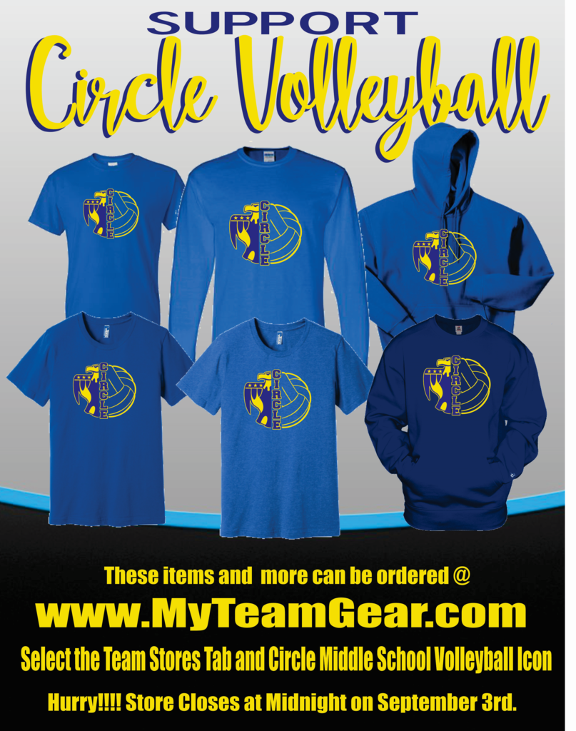 CMS Volleyball shirts