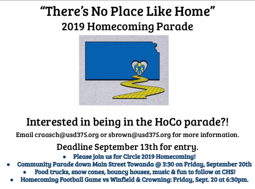 2019 Homecoming Parade!