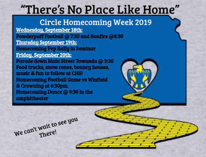 Homecoming Week is here!!!