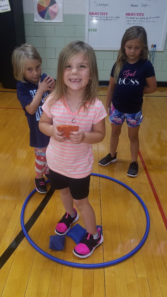 KDG integrating math in PE