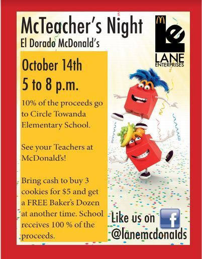 McTeacher Night is Tonight!