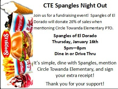 CTE Spangles Night Out #thrivein375