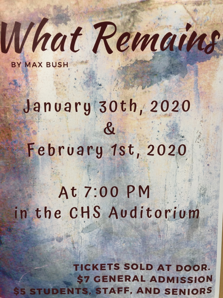 7PM CHS Auditorium