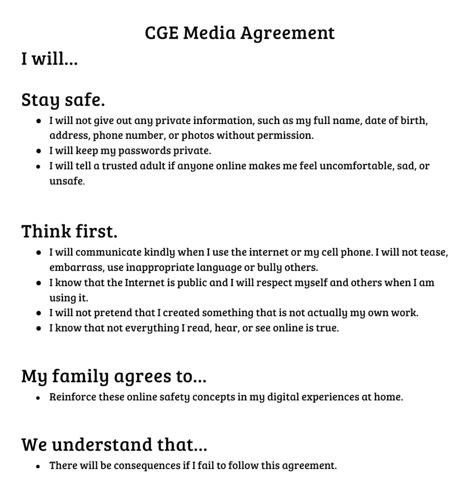 Media agreement
