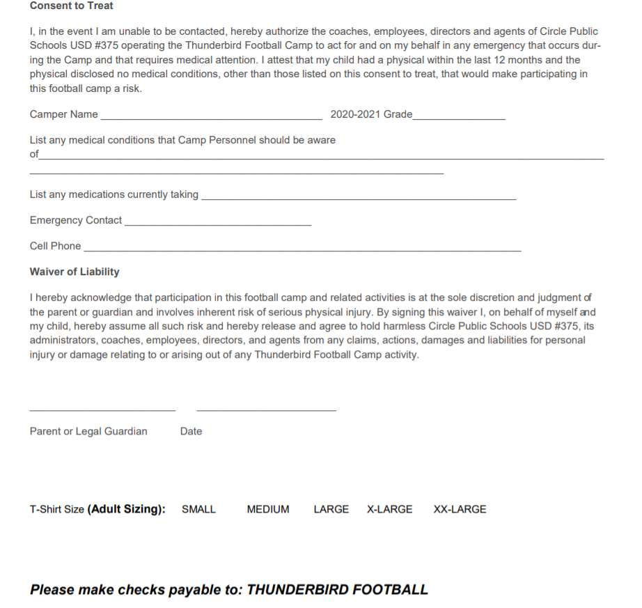 Summer Camp for Football